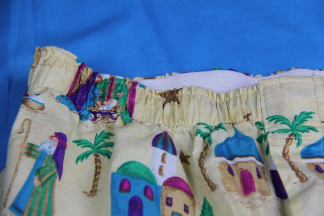 nativity boxer shorts waistband