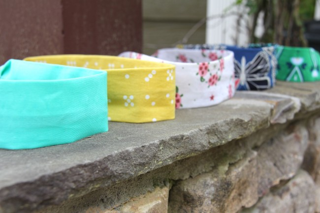 simple classic fabric headbands