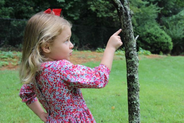 Classic girls dress sewing pattern