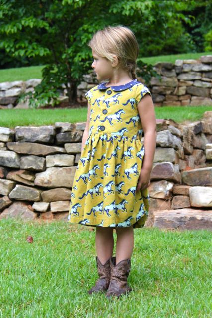FLip Flop Dress sewing pattern by Whipstitch