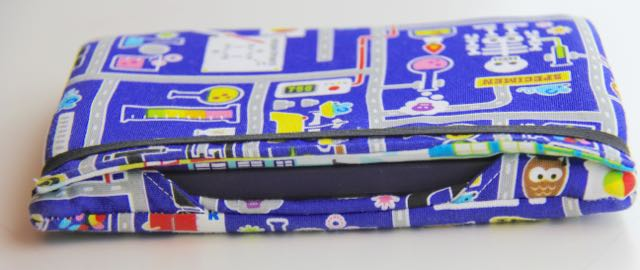 Padded Kindle cover for kids | Whipstitch blog