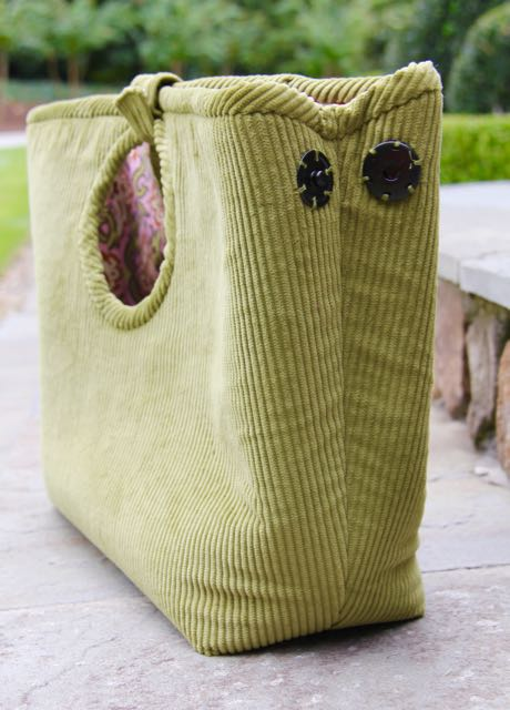 autumn Cote dAzur Tote from Whipstitch patterns