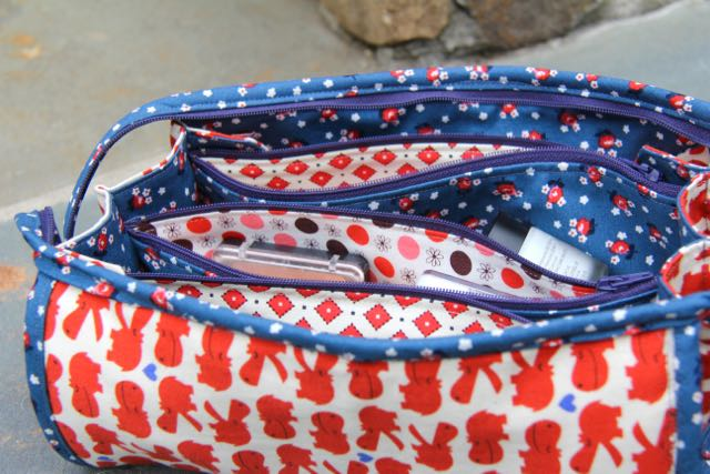 inner pockets of sew together bag