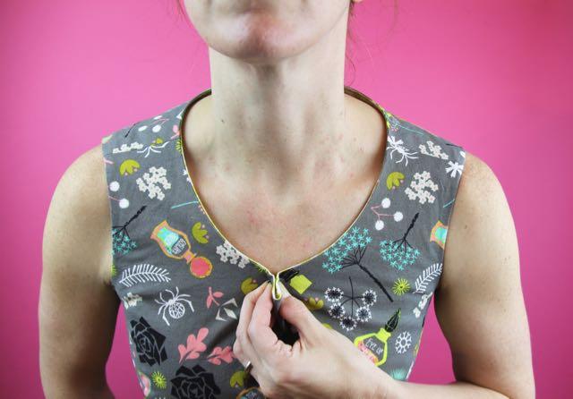 neckline excess