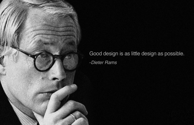 dieter rams quote