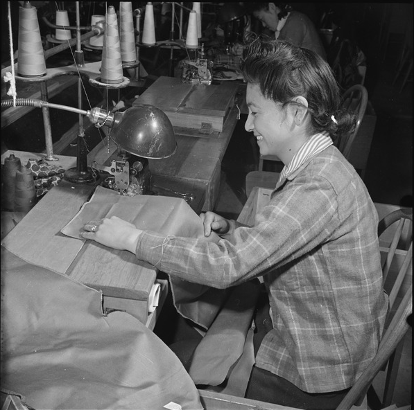 Mrs. Mary Nagao | Seamstresses of Manzanar