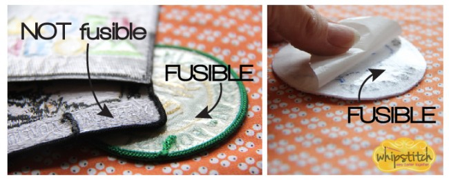 fusible patches for sewing
