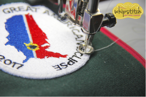 sew on patch | Whipstitch