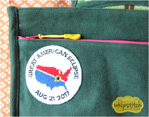 sewing on patches | Whipstitch