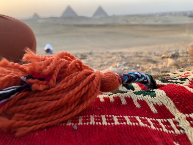 Quilting club heads to Egypt