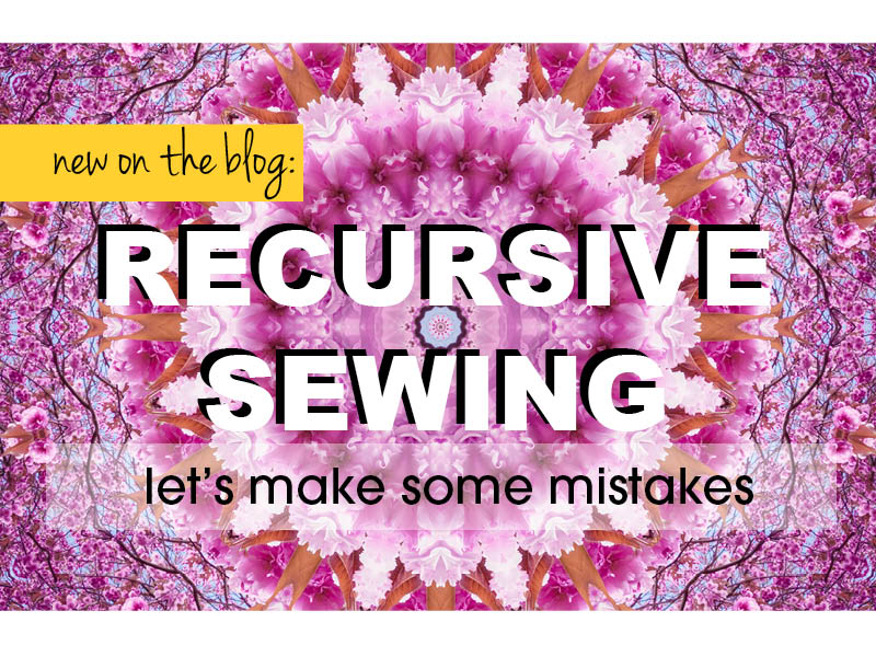 recursive sewing title card slideshow 2